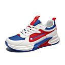 זול נעלי ספורט לגברים-בגדי ריקוד גברים נעלי נוחות רשת קיץ / סתיו ספורטיבי / יום יומי נעלי אתלטיקה ריצה / הליכה ללא החלקה ירוק / שחור לבן / לבן וכחול