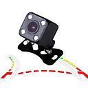 hesapli Araç Arka Görüş Kameraları-Ziqiao dinamik yörünge parça gece görüş ccd hd renk su geçirmez araba dikiz park kamera ip68 ters yedekleme kamera
