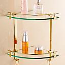 זול מדפי מקלחת-צדף לחדר האמבטיה יצירתי עכשווי פליז / זכוכית 1pc - חדר אמבטיה מותקן על הקיר