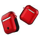 povoljno iPhone maske-za Apple Airpods slučaj za Bluetooth bežične slušalice anti-knock sjajni zaštitni poklopac za zrak mahuna za punjenje okvir
