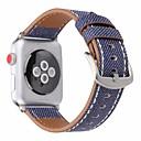 hesapli Smartwatch Bantları-Watch Band için Apple Watch Series 4/3/2/1 Apple Spor Bantları Gerçek Deri Bilek Askısı