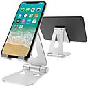 זול אביזרים למטבח-טלפון נייד לעמוד אלומיניום מתכוונן שולחן העבודה המזח עבור ipad הטלפון לעבור