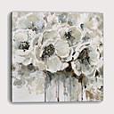 זול הדפסים-דפוס הדפסי בד מתוחים - מופשט בוטני מודרני הדפסים אמנותיים