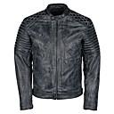 זול ג'קטים לאופנועים-LITBest אופנוע בגדים ג'קט ל שך גברים עור פרה קיץ & אביב / חורף חם יותר / איכות מעולה