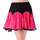 זול דלת חומרה & מנעולים-ריקוד לטיני חלקים תחתונים בגדי ריקוד נשים הדרכה / הצגה פוליאסטר / מילק פייבר נצנוץ / מפרק מפוצל גבוה חצאיות