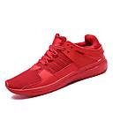 hesapli Erkek Atletik Ayakkabıları-Erkek Ayakkabı Örümcek Ağı / PU Yaz Sportif Atletik Ayakkabılar Koşu Atletik için Beyaz / Siyah / Kırmzı