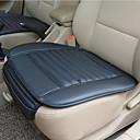 זול כיסויי למושבים לרכב-נשימה פו עור במבוק פחם המכונית מושב פנים כרית כרית עבור ציוד אוטומטי כיסא משרדי