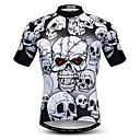 hesapli Bisiklet Formaları-WEIMOSTAR Erkek Kısa Kollu Bisiklet Forması Siyah / Beyaz Bisiklet Tracksuit Forma Üstler Nefes Alabilir Spor Dalları Polyester Elastane Terylene Dağ Bisikletçiliği Yol Bisikletçiliği Giyim