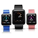 זול שעוני קיר-w5 ספורט חכם צמיד ip67 כושר גשש קצב הלב לחץ דם צג תזכורת תזכורת ספורט wristband בריאות שעון חכם
