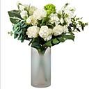 halpa Tekokukat-Keinotekoinen Flowers 1 haara Klassinen Moderni Eternal Flowers Pöytäkukka