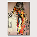 halpa Seinätarrat-Hang-Painted öljymaalaus Maalattu - Ihmiset Nude Moderni Ilman Inner Frame