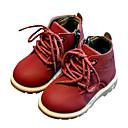 halpa Lasten saappaat-Poikien / Tyttöjen PU Bootsit Taapero (9m-4ys) / Pikkulapset (4-7 vuotta) Maiharit Musta / Keltainen / Burgundi Syksy / Talvi