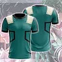 halpa Anime-asut-Innoittamana My Hero Academy taistelu Kaikki / Boku no Hero Academia Cosplay Anime Cosplay-asut Japani Cosplay T-paita 3D sarjakuva / Tulostus T-paita Käyttötarkoitus Unisex