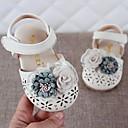 povoljno Kids' Flats-Djevojčice Udobne cipele / Cipele za bebe Mikrovlakana Ravne cipele Dijete (9m-4ys) Bež / Pink Proljeće / Ljeto