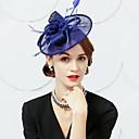 povoljno Kentucky Derby Hat-100% posteljine Trake za kosu / Fascinators s Perje 1pc Special Occasion / Zabava / večer Glava