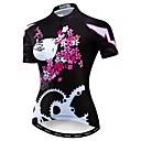 hesapli Bisiklet Formaları-WEIMOSTAR Kadın's Kısa Kollu Bisiklet Forması Siyah Bisiklet Forma Üstler Nefes Alabilir Spor Dalları Polyester Elastane Terylene Dağ Bisikletçiliği Yol Bisikletçiliği Giyim / Mikro-Esnek