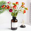 זול פרחים מלאכותיים-פרחים מלאכותיים 1 ענף קלאסי חתונה ארופאי אדמוניות פרחים נצחיים פרחים לשולחן