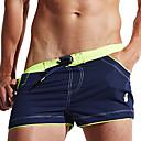 povoljno Biciklističke majice-Muškarci Kupaće hlačice Swim Trunks Spandex Surferske hlače Prozračnost Anatomski dizajn Vezica - Plivanje Ronjenje Surfanje Kolaž Ljeto / Rastezljivo