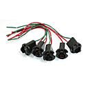 hesapli Others-5 adet t10 led ışık soket lamba tutucu tel bağlayıcı
