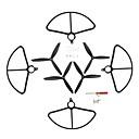 זול בלונים-Holy Stone HS700 4pcs משמרות מדחף / מדחפים RC Quadcopters RC Quadcopters ABS + PC רעש נמוך / ניתן להסרה / קל להתקנה
