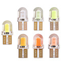 halpa Car Signal Lights-10kpl / erä uutta saapumista t10 194 168 w5w cob 8smd 1w canbus silikoni super kirkas led käännöspuolelle rekisterikilven valo lamppu lamppu dc12v