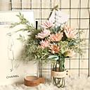 זול פרחים מלאכותיים-סרטן, טופר, דרקון, טופר, פרח, סימולציה, פרח, יצרן, בית, קישוט, זר, זר, פרוח, שתול, קיר, מזויף, פרוח, ענף, 2, ראשים