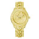 זול טבעות לגברים-ז 'נבה קוורץ האופנה נשים שעונים קריסטל ריינסטון שעונים גבירותיי שעון יד סגסוגת יוקרה