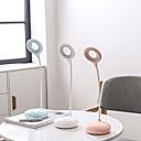 halpa Työpöytävalaisimet-Yksinkertainen / Moderni nykyaikainen Silmäsuoja / Ambient Valaisimet Työpöydän lamppu / Lukuvalot Käyttötarkoitus Makuuhuone / Toimisto <5V Valkoinen / Rubiini / Apila
