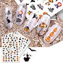 povoljno 3D naljepnica-8 pcs 3D Nail Naljepnice Pauci / Monster nail art Manikura Pedikura Eco-friendly / Tanak dizajn Crtići / Europska Halloween
