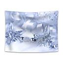 halpa Seinämaalaukset-Christmas / Loma Wall Decor 100% polyesteri Uusivuosi Wall Art, Seinävaatteet Koriste
