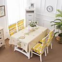 זול כיסויי שולחן-עכשווי קאנטרי סיבי פוליאסטר ריבוע כיסויי שולחן מעוטר מדפיס לוח קישוטים