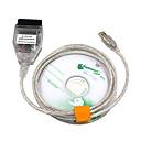povoljno OBD-saihisday kdcan obd2 kabelska sklopka ftdi ft232rl alati inpa ediabas ncs expert ista w / cd driver odgovara bmw vozilima inpa k dcan car obd kabel za bmw - srebrna 1m