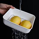 hesapli Kavanozlar ve Kutular-1pc Depolama / Saklama Kutuları Plastikler Depolama Pişirme Kaplar İçin