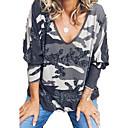 abordables Collier-Tee-shirt Femme, camouflage Mosaïque / Imprimé Basique Violet