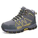 hesapli Erkek Atletik Ayakkabıları-Erkek Ayakkabı Tüylü / Süet Kış Sportif / Günlük Atletik Ayakkabılar Dağ Yürüyüşü / Yürüyüş Bootiler / Bilek Botları Dış mekan için Siyah / Kırmızı / Sarı
