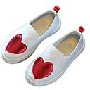 זול Kids' Flats-בנות נוחות PU נעליים ללא שרוכים ילדים קטנים (4-7) אדום / ירוק / כחול אביב