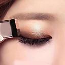 hesapli Göz Farları-Çift renk degrade tembel göz farı makyaj paleti glitter göz farı paleti su geçirmez glitter göz farı pırıltılı kozmetik