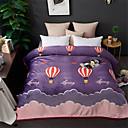 billige Tæpper ogplaider-Seng tæpper, Blomstret / Trykt mønster / Simpel polyester Blød comfy dyner