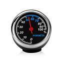 זול מדי לחץ אוויר לצמיגים-מיני מכונית רכב דיגיטלי שעון דיגיטלי שעון מדחום רכב מדדי לחות קישוט שעון שעון סגנון מדדי לחות