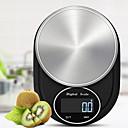Недорогие Весы-0.5g-3kg Портативные Автоматическое выключение Несколько режимов Электронные кухонные весы Семейная жизнь Кухня ежедневно