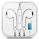 זול אוזניות קוויות-אוזניות קווית עם אוזניות סטריאו מיקרופון לאייפונים