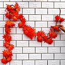 זול צמחים מלאכותיים-פרחים מלאכותיים 1 ענף להתקנה על הקיר מודרני עכשווי צמחים פרחים לקיר