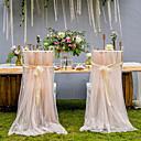 povoljno Košara za cvijeće-ukras za ceremoniju satena / tila iz PVC torbe - vjenčanje / zabava / večernja klasična tema / kreativno / vjenčanje