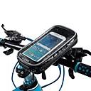 זול אירגוניות לרכב-מסך מגע טלפון נייד עמיד למים תיק צינור כידון אופני אופניים רכיבה על אופניים הר מסתובב - ב