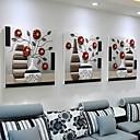 זול אומנות ממוסגרת-תמונת שמן ממוסגרת - טבע דומם אקרילי ציור שמן וול ארט