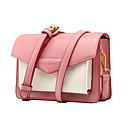 povoljno Komplet torbi-Žene mikrovlakana Torba preko ramena Color block Sky blue / Blushing Pink / žuta