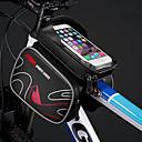 זול כיסוי לאופניים-טלפון נייד תיק 6 אִינְטשׁ מסך מגע רכיבת אופניים ל רכיבה על אופניים פול אודם תלתן אופני כביש רכיבה על אופניים / אופנייים רכיבת פנאי
