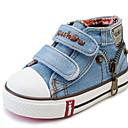 זול נעלי ספורט לילדים-בנות נוחות קנבס נעלי ספורט ילדים קטנים (4-7) כחול כהה / כחול קיץ