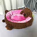 זול מיטות כלבים & שמיכות-מיטה לחיות מחמד צורת חתול חמודה פוליאסטר האפור לחתולים כלבים 50 * 45 סנטימטר / 20 * 18 אינץ '