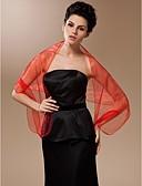 ราคาถูก ผ้าคลุมสำหรับชุดแต่งงาน-ออแกนซ่า Party / Evening ห่อแต่งงาน / ผ้าคลุมไหล่ กับ ผ้าคลุมไหล่